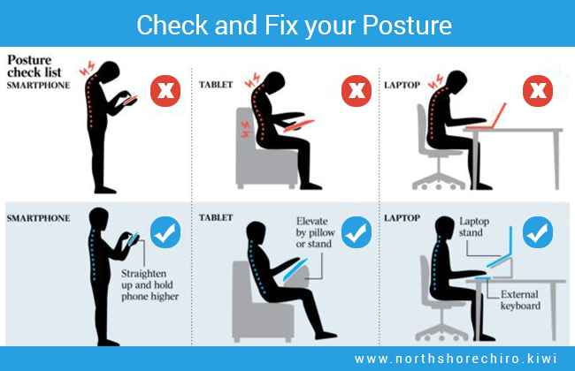 chronic fatigue linked to poor posture - fix your posture