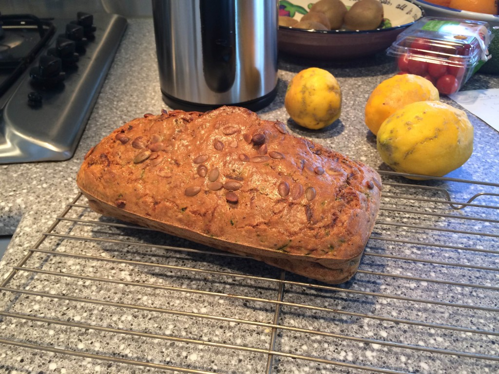 Courgette Bread Recipe 02