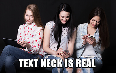 text neck is real