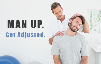Men can benefit from chiropractic