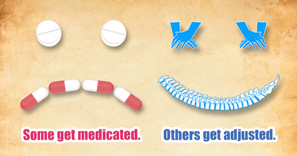 Modern medication vs Natural Healing Chiropractic